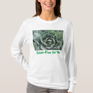 Gluten-Free for Me with Cabbage T-Shirt