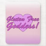 Gluten Free Goddess! Gluten Allergy Celiac Mouse Pad