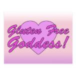 Gluten Free Goddess! Gluten Allergy Celiac Post Cards