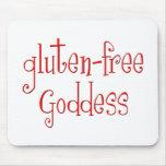 Gluten Free Goddess Mouse Pad