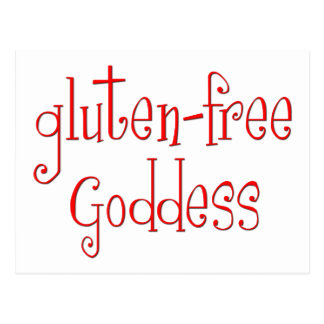 Gluten Free Goddess Post Card