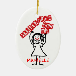 Gluten Free Holiday Ceramic Ornament