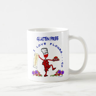 Gluten Free I Love Flours Coffee Mug