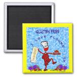 Gluten Free I Love Flours Magnet