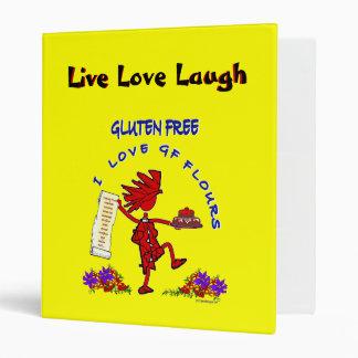 Gluten-Free - I Love GF Flour Design Binder