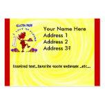 Gluten-Free - I Love GF Flour Design Business Card