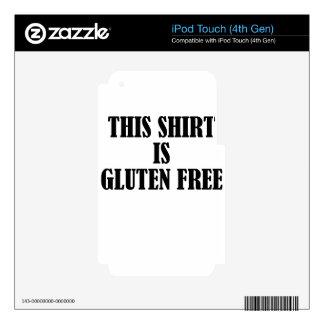 gluten free iPod touch 4G decals
