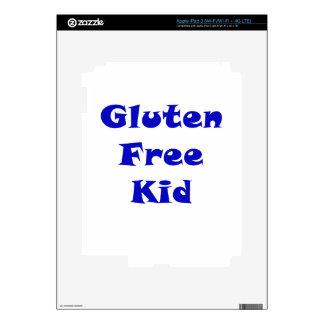 Gluten Free Kid iPad 3 Skin
