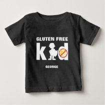 Gluten Free Kid Super Boy Celiac Shirt
