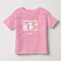 Gluten Free Kid Super Girl Celiac Shirt