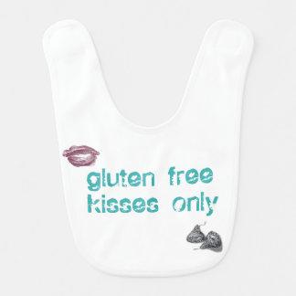 Gluten Free Kisses Only Bib