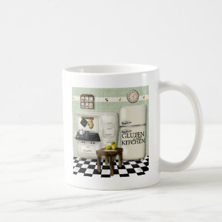 Gluten Free Kitchen Green Coffee Mug