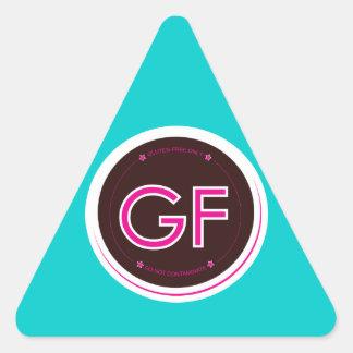 Gluten-Free Label Triangle Sticker