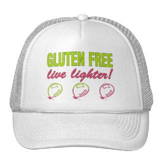 Gluten Free Live Lighter Gluten Allergy Celiac Hats