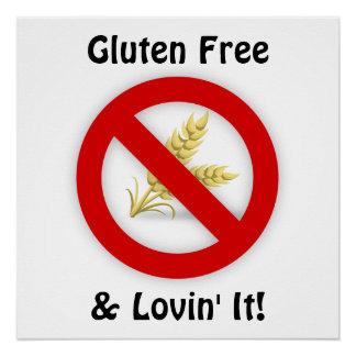 Gluten Free & Lovin' It Poster