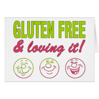Gluten Free & Loving it! Gluten Allergy Celiac Card