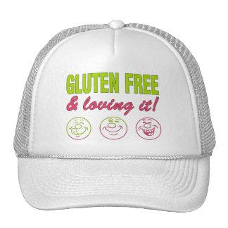 Gluten Free Loving it Gluten Allergy Celiac Hats