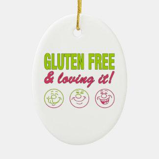 Gluten Free & Loving it! Gluten Allergy Celiac Ornaments