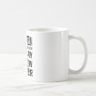 Gluten Free No Way No How Never Classic White Coffee Mug