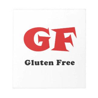 Gluten Free Notepad