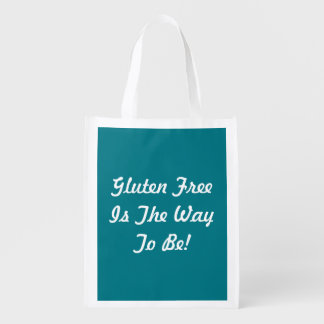 Gluten Free Reusable Grocery Tote