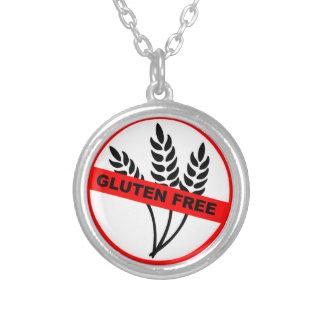 Gluten Free Round Pendant Necklace