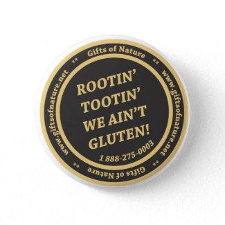 Gluten Free Slogan button