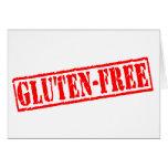 Gluten free stamp greeting cards