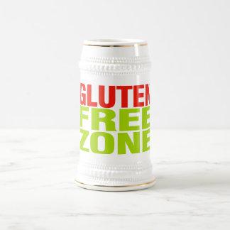 Gluten Free Zone (celiac disease) Beer Stein