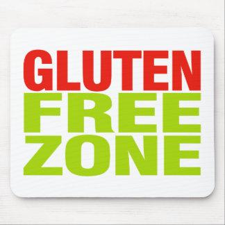 Gluten Free Zone (celiac disease) Mouse Pad