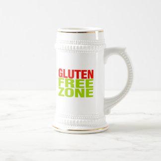 Gluten Free Zone (celiac disease) 18 Oz Beer Stein
