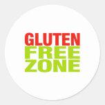 Gluten Free Zone (celiac disease) Sticker