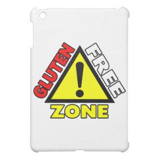 Gluten Free Zone (celiac disease - wheat allergy) iPad Mini Covers