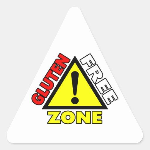 Gluten Free Zone (celiac disease - wheat allergy) Sticker