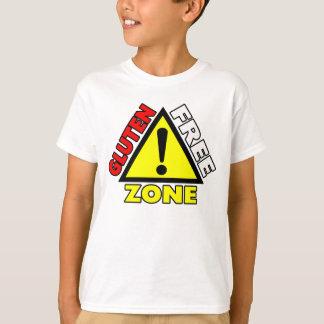 Gluten Free Zone (celiac disease - wheat allergy) T-Shirt