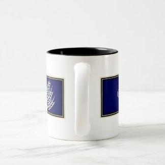 Gluten Free'D - Classic Logo in Blueberry Two-Tone Coffee Mug