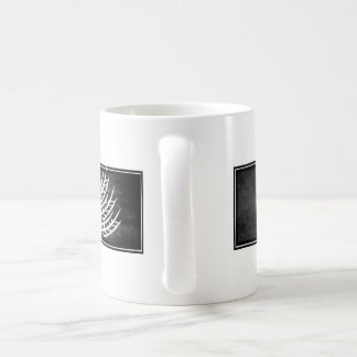 Gluten Free'D - Classic Logo in Rustic Charcol Classic White Coffee Mug