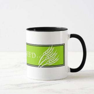 Gluten Free'D Mugs - Classic Logo in Lime