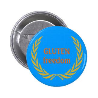 Gluten Freedom 2 Inch Round Button