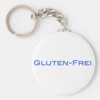 Gluten-Frei Llavero Redondo Tipo Pin