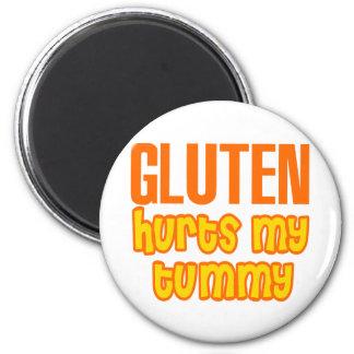 Gluten Hurts My Tummy Magnet