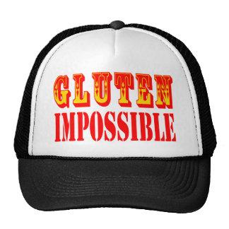 Gluten imposible gorras