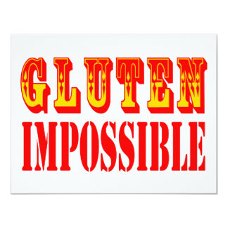 Gluten Impossible Card