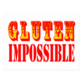 Gluten Impossible Postcard