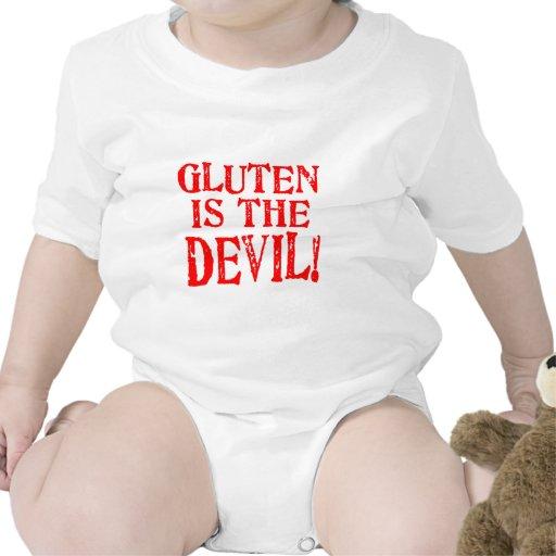 Gluten Is The Devil Tshirts