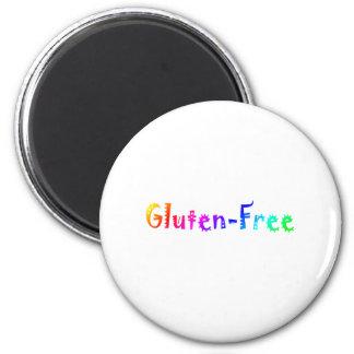 Gluten libre (brillante) imán para frigorífico