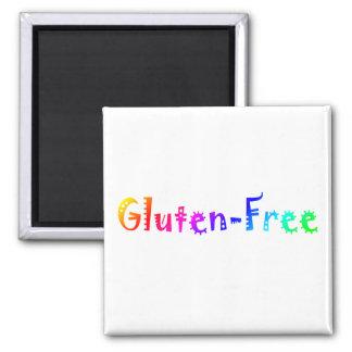 Gluten libre (brillante) iman para frigorífico