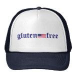 gluten-libre - gorra de la bandera de los E.E.U.U.