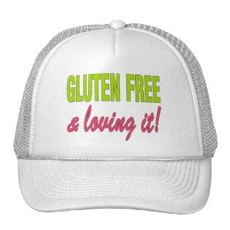 ¡Gluten libre y que lo ama! Enfermedad celiaca Gorros