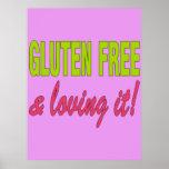 ¡Gluten libre y que lo ama! Enfermedad celiaca Impresiones
